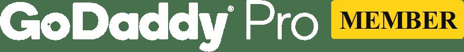 GoDaddy Pro Member Logo