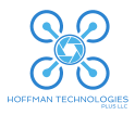 Hoffman Technologies Plus, LLC Drone Logo